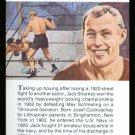 JACK SHARKEY TRUE VALUE WORLD HEAVYWEIGHT BOXING CHAMPIONSHIP CARD BOSTON GOB