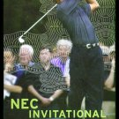 TIGER WOODS 2004 NEC AMEX FIRESTONE AMERICAN EXPRESS PROMO AD TRADE RYDER CUP
