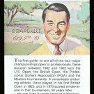 GENE SARAZEN TRUE VALUE GRAND SLAM SQUIRE PGA GOLF CARD MASTERS BRITISH US OPEN