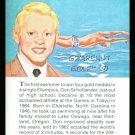DON SCHOLLANDER TRUE VALUE OLYMPIC GOLD MEDAL CHAMPION SWIMMING SWIMMER CARD HOF