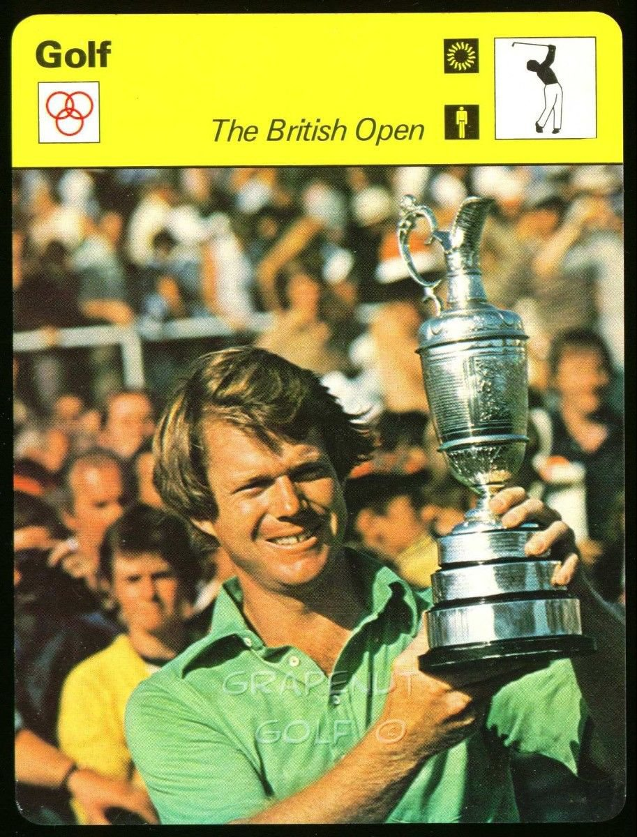 TOM WATSON THE BRITISH OPEN ST ANDREWS SPORTSCASTER GOLF CARD 38-05