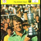 TOM WATSON THE BRITISH OPEN ST ANDREWS SPORTSCASTER GOLF CARD 38-05