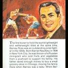 BARNEY ROSS TRUE VALUE WORLD CHAMPION BOXING CARD HALL OF FAME GOLDEN GLOVES
