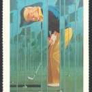 JACK NICKLAUS 1981 SMITHSONIAN NATIONAL PORTRAIT GALLERY CHAMPIONS CARD