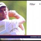 ANDERS HANSEN TITLEIST FOOTJOY BRITISH OPEN PROMO PGA TOUR CARD DANISH HOUSTON