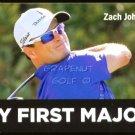 ZACH JOHNSON 2014 TITLEIST MY FIRST MAJOR PROMO CARD MASTERS CHAMPION VERY RARE