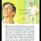 ELLSWORTH VINES TRUE VALUE WIMBLEDON GRAND SLAM TENNIS HOF PGA TOUR GOLFER CARD