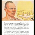 BOB FITZSIMMONS TRUE VALUE RUBY WORLD HEAVYWEIGHT CHAMPION PRO BOXING CARD NMT