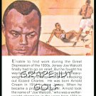 JERSEY JOE WALCOTT TRUE VALUE WORLD HEAVYWEIGHT CHAMPION BOXING CARD 51 WINS