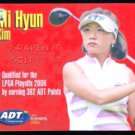 MI HYUN KIM 2006 LPGA TOUR ADT CHAMPIONSHIP ROOKIE FIRST GOLF CARD 19 PRO WINS