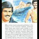 MARK SPITZ TRUE VALUE OLYMPIC GOLD MEDAL WORLD RECORD CHAMPION SWIMMING CARD