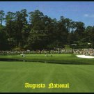 AUGUSTA NATIONAL GOLF CLUB MASTERS 15th GREEN PAR 5 ERNEST FERGUSON POSTCARD