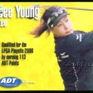 JEE YOUNG LEE 2006 LPGA TOUR ADT CHAMPIONSHIP ROOKIE 1ST CARD JELLY SOUTH KOREA