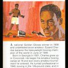 TRUE VALUE EZZARD CHARLES GOLDEN GLOVES PRO BOXING CARD NM-MT