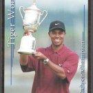 TIGER WOODS 2001 US OPEN CHAMPION SPORTS CARD INVESTOR GOLD FOIL CARD TROPHY