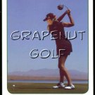 NATALIE GULBIS 2005 OUT OF BOUNDS LPGA TOUR GOLF GAME CARD HOT SEXY SI BODY