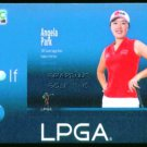 ANGELA PARK 2009 CNC LPGA TOUR BRAZIL USA GOLF GIRL CARD NM ROOKIE OF THE YEAR