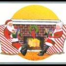 SANTA MRS CLAUS 1991 TUFF STUFF CHRISTMAS STOCKING STUFFER CARD RARE
