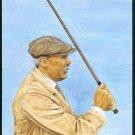 JAMES BRAID ST ANDREWS BRITISH OPEN CHAMPION GOLF CARD