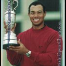 TIGER WOODS 2001 PLATINUM SP SPORTS CARD INVESTOR BRITISH OPEN