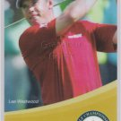 2012 LEE WESTWOOD THAILAND GOLF CHAMPIONSHIP PASS TICKET VERY RARE CARD