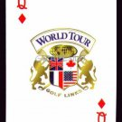 WORLD TOUR GOLF LINKS MYRTLE BEACH SINGLE PLAYING SWAP COLLECTIBLE CARD