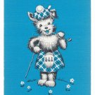ACE of HEARTS SCOTTIE SCOTTISH TERRIER SINGLE PLAYING SWAP COLLECTIBLE CARD