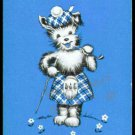 SCOTTY SCOTTISH TERRIER DOG SINGLE MINI MINATURE PLAYING SWAP COLLECTIBLE CARD