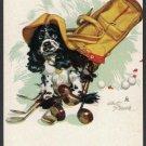 JOKER COCKER SPANIEL BUTCH DOG STAEHLE GOLF NO AD SINGLE PLAYING SWAP CARD
