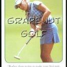 NATALIE GULBIS 2005 3 PUTT LPGA TOUR OUT OF PRINT GOLF GAME CARD HOT SI BODY