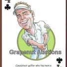 DARREN CLARKE BRITISH OPEN PGA TOUR CHAMPION GOLF SINGLE PLAYING SWAP CARD