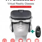 FIIT VR 3F 3D Panoramic Virtual Reality Glasses &Headphone for Smartphone+Remote