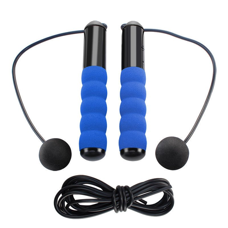sport record steps fitness burn calories rope skipping lcd