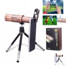 20x Optical Zoom Camera Lens Telescope Telephoto Clip On For Mobile Cell Phones