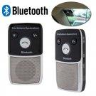 Solar Powered Speakerphone Bluetooth Hands-free Car Kit For Mobile Phone