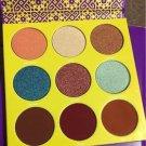 The Saharan II Eyeshadow Magic 9 Colors Juvia Palette