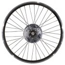 Motorized Bicycle Heavy Duty Bike Wheel and Axle Kit-150mm