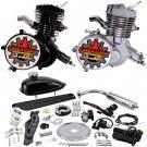 Zeda Complete 80cc Bicycle Engine Kit - Firestorm Edition- Black