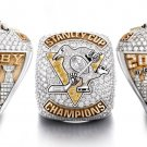 Drop Shipping  Size 8 to 14  For Stanley Cup Ring 2017 Pittsburgh Penguins