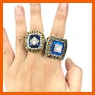 1969/1986 SET NEW YORK METS WORLD SERIES CHAMPIONSHIP RING SET IN US SIZE