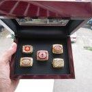 1972 1982 1983 1987 1991 Washington Redskins Super Bowl championship ring 5