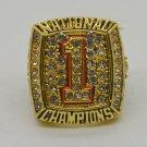 2005 Texas Longhorns championship ring for men Size 11 best gift-in Rings