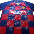 Barcelona 19/20 Team Signed Auto Jersey Incl LEO MESSI