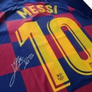 Messi Signed 19/20 Barcelona Signed Jersey Auto
