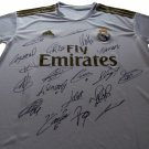 Real Madrid 2019/20 Team Signed Jersey Auto incl Modric