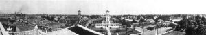 """30"""" Wide Black & White Panoramic Photo of City Hall in 1923"""