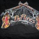 DEFTONES - Guns/Spiderwebs Long-Sleeved T-Shirt  ~Never Worn~  Medium