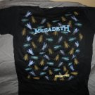 "MEGADETH - Endgame ""Flies"" All-Over Print Women's T-Shirt ~Never Worn~  XL"