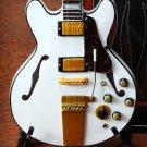 Gibson Custom Les Paul Hollow Body 1:4 Scale Replica Guitar ~Axe Heaven~