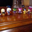 "Teen Titans GO! 2"" Mini Figure Full Set of 8 ~Series 3~"